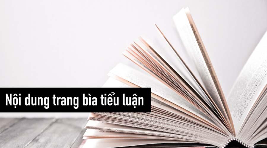 Tác dụng của thiết kế bìa tiểu luận đẹp là gì?